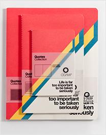 办公色彩笔记本