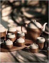 古旧陶瓷茶具