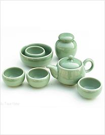 玉陶瓷茶具